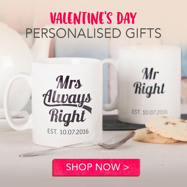 Personalised Valentine's day gifts