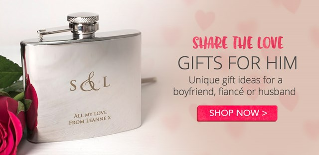 Personalised gifts for him